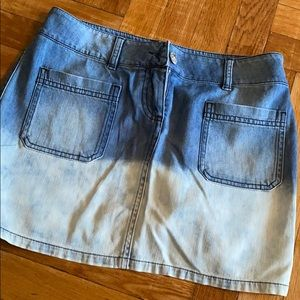 Chanel Jean skirt